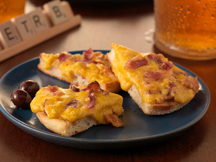 BACON, BEER & CHEDDAR ENGLISH MUFFIN BITES